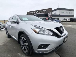 Used 2016 Nissan Murano Platinum AWD for sale in Sudbury, ON