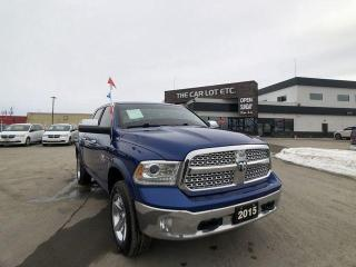 Used 2015 RAM 1500 Laramie ECO-DIESEL, Leather, Heated seats,Heated steering wheel etc... for sale in Sudbury, ON