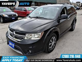 Used 2012 Dodge Journey R/T for sale in Hamilton, ON