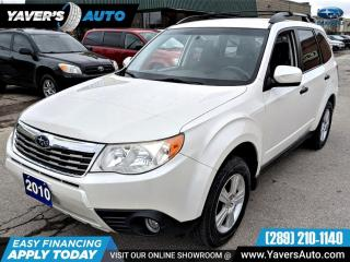 Used 2010 Subaru Forester 2.5X for sale in Hamilton, ON