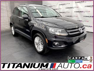 Used 2016 Volkswagen Tiguan 4Motion AWD+GPS+Camera+Panoramic Roof+Apple Play for sale in London, ON
