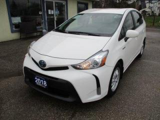 Used 2018 Toyota Prius V GAS SAVING HYBRID-EDITION 5 PASSENGER 1.8L - DOHC.. ECO/EV/POWER-MODE SELECT.. BACK-UP CAMERA.. BLUETOOTH.. TOUCH SCREEN DISPLAY.. for sale in Bradford, ON