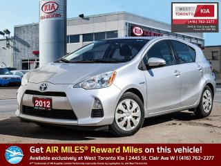 Used 2012 Toyota Prius C for sale in Toronto, ON