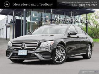 New 2018 Mercedes-Benz E400 4MATIC 4 MATIC for sale in Sudbury, ON