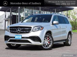 Used 2018 Mercedes-Benz GLS AMG GLS 63 for sale in Sudbury, ON