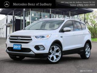 Used 2017 Ford Escape Titanium - PRICED 1 OF 79 IN ONTARIO - FULLY LOADED for sale in Sudbury, ON