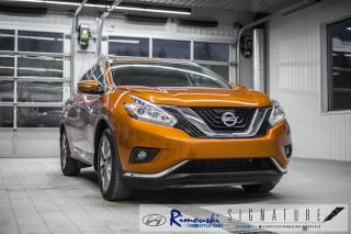Used 2015 Nissan Murano SV AWD chez Rimouski hyundai for sale in Rimouski, QC