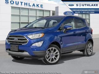 New 2020 Ford EcoSport Titanium for sale in Newmarket, ON