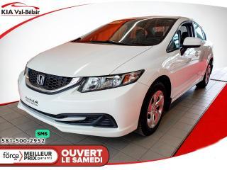 Used 2014 Honda Civic HONDA CIVIC 2014 LX automatique for sale in Québec, QC