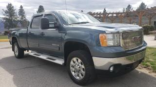 Used 2012 GMC Sierra 2500 HD SLE CREW CAB LONG BO for sale in West Kelowna, BC