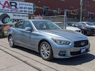 Used 2014 Infiniti Q50 Premium for sale in Scarborough, ON