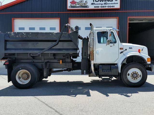 1997 International 4300 DT466E Diesel Dump Truck