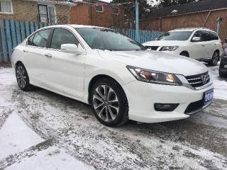 Used 2014 Honda Accord Sedan Sport for sale in Scarborough, ON