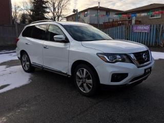 Used 2018 Nissan Pathfinder Platinum for sale in Scarborough, ON