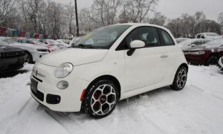 Used 2016 Fiat 500 Sport for sale in Niagara Falls, ON