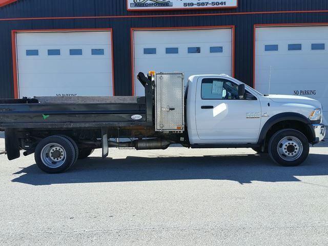 2016 RAM 5500 Reg Cab 4x4 Diesel Dump Truck