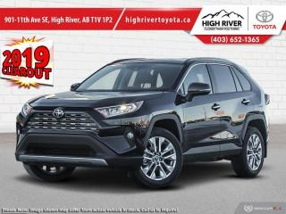New 2019 Toyota RAV4 AWD Limited  - Leather Seats for sale in High River, AB