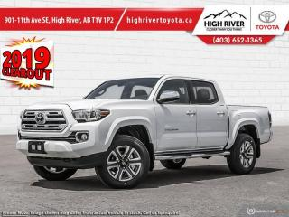 New 2019 Toyota Tacoma 4X4 Double CAB V6 Auto Limited for sale in High River, AB