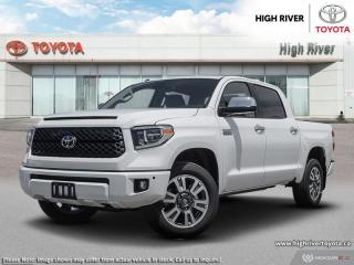 New 2019 Toyota Tundra 4X4 Crewmax Platinum 5.7L for sale in High River, AB
