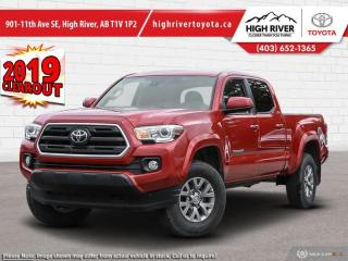 New 2019 Toyota Tacoma 4x4 Double Cab V6 Auto SR5 for sale in High River, AB