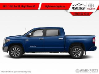 New 2020 Toyota Tundra Platinum  - Navigation -  Sunroof for sale in High River, AB