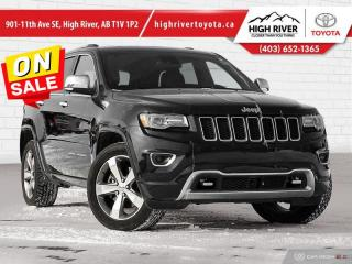 Used 2015 Jeep Grand Cherokee Overland  - Navigation for sale in High River, AB