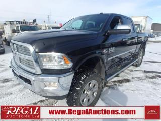 Used 2015 RAM 3500 Limited Crew CAB SWB 4WD 6.7L for sale in Calgary, AB