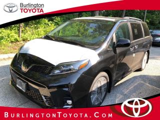 New 2020 Toyota Sienna SE 8-Passenger FWD for sale in Burlington, ON