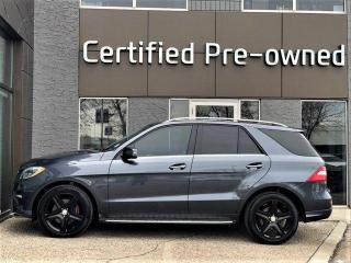 Used 2015 Mercedes-Benz ML-Class DIESEL w/ SPORT PACK / NAVIGATION for sale in Calgary, AB