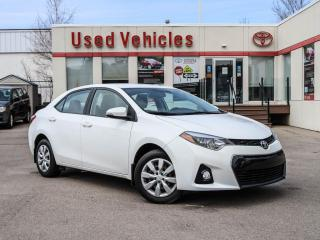 Used 2015 Toyota Corolla 4dr Sdn CVT S | for sale in North York, ON