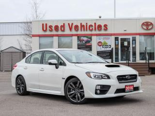 Used 2016 Subaru WRX 4dr Sdn CVT w-Sport-tech Pkg | COMING SOON for sale in North York, ON