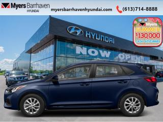 New 2020 Hyundai Accent Essential w/Comfort Package IVT  - $126 B/W for sale in Nepean, ON