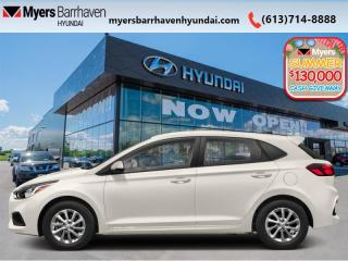 New 2020 Hyundai Accent Ultimate  - Sunroof - $149 B/W for sale in Nepean, ON