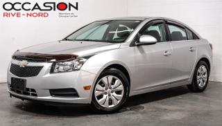 Used 2013 Chevrolet Cruze LT Turbo BLUETOOTH+A/C for sale in Boisbriand, QC