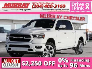 New 2020 RAM 1500 Big Horn North Edition *Heated Seats/Steer* *NAV* for sale in Brandon, MB