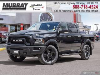 New 2020 RAM 1500 Classic Warlock 4x4 Crew Cab 5'7  Box for sale in Winnipeg, MB