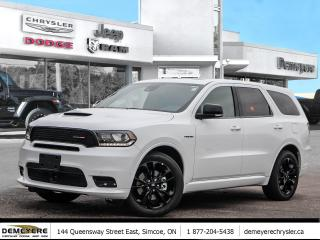 New 2020 Dodge Durango R/T | BLACK-TOP | REAR DVD | SUNROOF | NAVIGATION for sale in Simcoe, ON