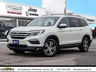Used 2017 Honda Pilot EX-L | HEATED LEATHER SEATS | NAVI | SUNROOF for sale in Simcoe, ON