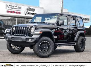 New 2019 Jeep Wrangler Unlimited SPORT | PRO-COMP TIRE/RIM PKG | LIFT | ONLY $149 P for sale in Simcoe, ON