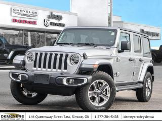 New 2020 Jeep Wrangler UNLIMITED SAHARA | DUAL TOP | NAVIGATION | LED for sale in Simcoe, ON