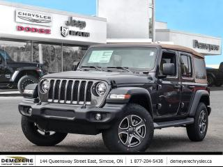 New 2020 Jeep Wrangler UNLIMITED | LED LIGHTS | COLD WEATHER GRP | for sale in Simcoe, ON