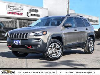 Used 2019 Jeep Cherokee TRAILHAWK | BACK-UP CAM | VIOCE COMMAND BLUETOOTH for sale in Simcoe, ON
