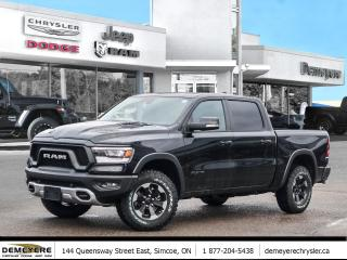 New 2020 RAM 1500 REBEL | LEATHER | PANO ROOF | BLIND SPOT | NAVI for sale in Simcoe, ON