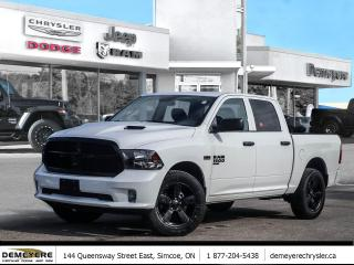 New 2019 RAM 1500 Classic NIGHT EDITION | ONLY $114 PER WEEK- 0 DOWN * for sale in Simcoe, ON