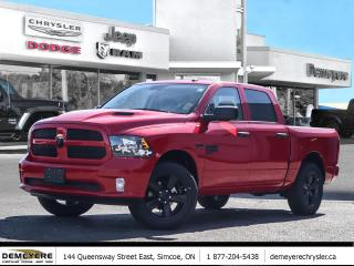 New 2019 RAM 1500 Classic SUB-ZERO NIGHT EDITION| ONLY $117 PER WEEK-0 DOWN* for sale in Simcoe, ON