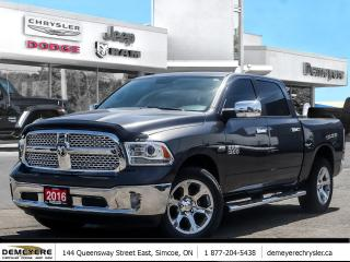 Used 2016 RAM 1500 LARAMIE | HEATED LEATHER | NAV CAPABLE | HTCH | HE for sale in Simcoe, ON