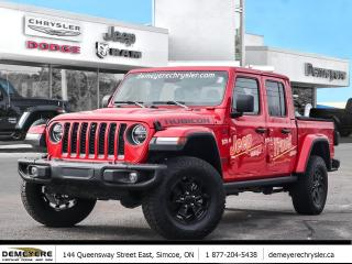 New 2020 Jeep Gladiator RUBICON | LEATHER | TRAIL CAM | STEEL BUMPER for sale in Simcoe, ON