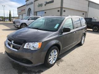 Used 2017 Dodge Grand Caravan QUAD SEATING,LOW KMS,REAR AIR, for sale in Slave Lake, AB