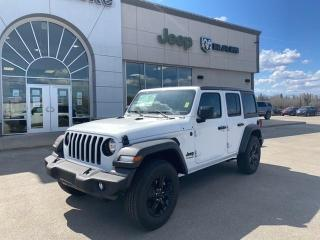 New 2020 Jeep Wrangler Unlimited Sport Altitude for sale in Slave Lake, AB