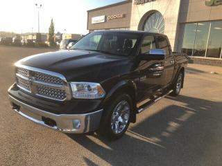 Used 2017 RAM 1500 LARAMIE,LEATHER,RAM BOXES,SUNROOF for sale in Slave Lake, AB